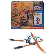 Hot Wheels Track Builder System Starter Kit Childs Playset 4+ Years