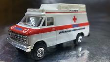 ** Trident 90065-A Croix Rouge Luxembourgeoise Ambulance HO 1:87 Scale