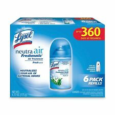 Lysol Neutra Air Freshener Freshmatic Refills Fresh Scent - 6 pack