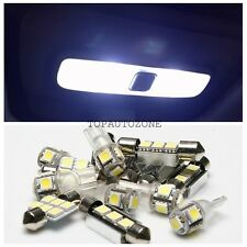 8 Pcs Pure White Led Lights Interior Package Kit For 2008-2014 Subaru Impreza