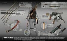 """016 Rise of The Tomb Raider - Upcoming Action Adventure Game 40""""x24"""" Poster"""