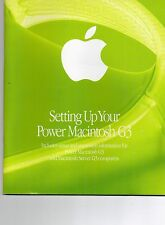 Macintosh G3 Set Up Apple Service Support Guide Troubleshooting Handbook OS 8.5