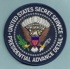 US SECRET SERVICE ADVANCE PRESIDENTIAL DETAIL POLICE PATCH