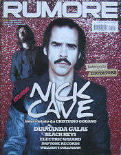 RUMORE 194 2008 Nick Cave Diamanda Galas Black Keys Electric Wizard Dictators