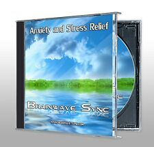 ANXIETY & STRESS RELIEF Brainwave Entrainment CD New
