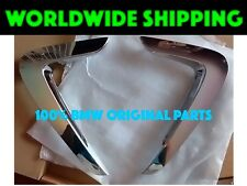 4 Series BMW F32 F33 F36 Chrome Air Duct/Side Vent Pair Left+Right GENUINE