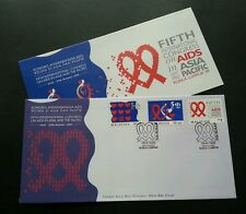 5th International Congress AIDS in ASIA And PACIFIC KL Malaysia 1999 (stamp FDC)