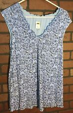 Medium Old Navy Maternity Top Pretty Floral Pattern Shirt Top Blouse NEW