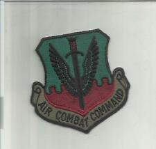 TOPPA PATCH  IN STOFFA  RICAMATA AIR COMBAT COMMAND