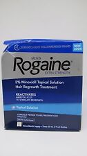 Men's Rogaine 5% Minoxidil Topical Solution Hair Regrowth Treatment - Damaged Pk