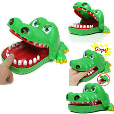 Newest Mini Crocodile Mouth Dentist Bite Finger Game Toy For Kids Adult Funny