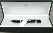 Monteverde Jewelria Mini Green Striated & Chrome Ballpoint Pen - New - 55% Off