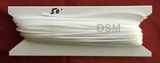 50 feet 2.2mm White Vertical Blind Track Replacement Cord -  String