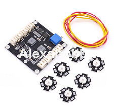 LED Flash Light Flashing With Control Board for RC Quadcopter Frequency Adjust