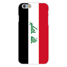 Iraq - World Country National Flag Fits iPhone 6+ Plastic Snap On Case