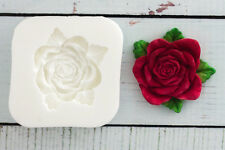 Silicone Mould,Rose Flower Food Grade Sugar craft/chocolate/fimo M0016