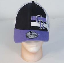 New Era 39Thirty Colorado Rockies Mesh Back Vintage Baseball Cap Adult L/XL NWT