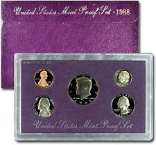 1988 United States US Mint Clad Proof Set SKU1434