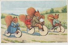 POSTCARD  CHILDREN  Rabbits   Theme   The Bicycle  Ride   Margaret Tempest