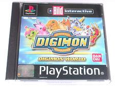 """PSX  Playstation Spiel """" DIGIMON WORLD """" DEUTSCH/ OVP * guter Zustand *"""