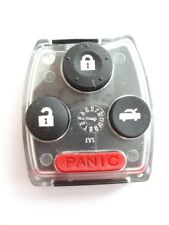 Replacement case Honda Accord Civic HRV 2 or 3 + 1 panic  button remote key fob