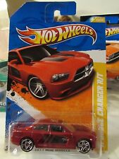 Hot Wheels '11 Dodge Charger R/T 2011 New Models Dk Red