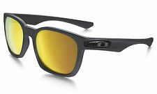Oakley Polarized MPH Garage Rock Sunglasses - Carbon Color w/ 24k Gold Lens