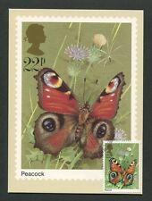 Gb UK Mk 1981 fauna mariposas Butterfly Carte maximum card mc cm 60563
