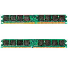 4GB 2x2GB DDR2 800Mhz PC2 6400 240 Pin Desktop DIMM Memory RAM Fit Intel & AMD
