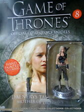 "Eaglemoss GAME OF THRONES Figurine Collection # 8 "" DAENERYS TARGARYEN "" Figure"