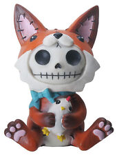 FURRY BONES FIGURINE - FEN THE FOX - NEW SKULL SKELETON IN COSTUME