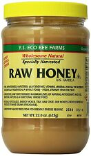 Y.S. Eco Bee Farms Raw Honey 100% Certified Organic - 22 oz, Pack Of 2 NEW