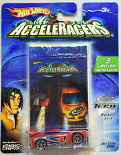 2004 HOT WHEELS ACCELERACERS SYNKRO  #3/9  3 COLLECTIBLE GAME CARDS