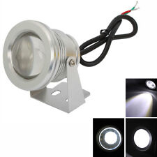10W LED Spotlight 900-1000LM Pure White Landscape Pond Light Waterproof 12V