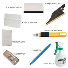 Car Window Tinting Tools Pre Cut Tint Film Auto Installation Premium Tool Kit