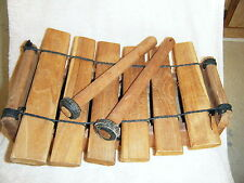 HAND MADE WOOD XYLOPHONE PERCUSSIONHAND MADE THAILAND SIAM ASIA