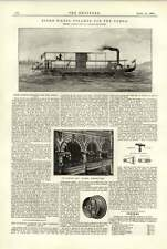 1891 Stern Wheel Steamer Congo Electric Lighting National Sporting Club