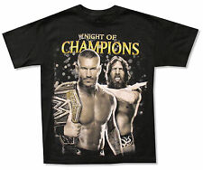 WWE WRESTLING - NIGHT OF CHAMPIONS 2013 BLACK T-SHIRT NEW KIDS YOUTH LARGE YL