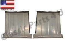 1955 1956 FORD MERCURY  REAR FLOOR PANS  ...NEW PAIR!!! FREE SHIPPING!!