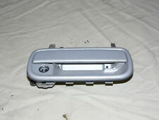 OEM 1996 Toyota 4Runner Silver Front Passenger's Side Exterior Door Handle/Lock