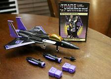 Transformers G1 Skywarp 1980, 1983 Vintage Decepticon Takara Near complete
