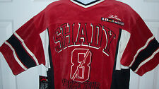 NWT SHADY LTD. WORLD TOUR Velour Jersey Official Men's Large Eminem Hip Hop NEW