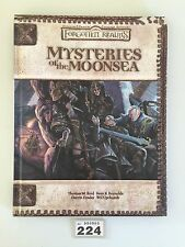 DUNGEONS & DRAGONS FORGOTTEN REALMS MYSTERIES OF THE MOONSEA CAMPAIGN HARDBACK