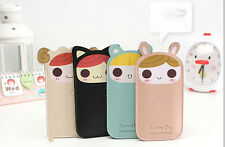 Cute Lorie Loli Lolita Pink Blk PU Leather Case Cover For Iphone4 4s 5 5s New