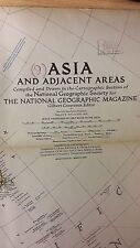 Asia And Adjacent Areas: National Geographic Map (M12)