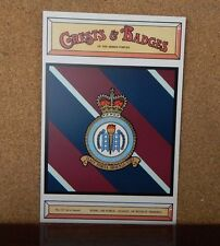 Royal Air force recruit training school  Crests & Badges of the armed services