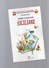 """storie e leggende siciliane  -serie giovani lettori - La spiga"""" - libri nuovi"""