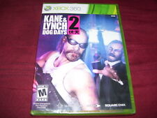 KANE & LYNCH 2 DOG DAYS XBOX 360 FACTORY SEALED!!! C@@L!!! SHIPS FAST!!! L@@K!!!