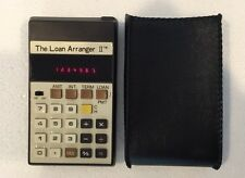The Loan Arranger II Working Calculator & Case Calculated Industries Vtg Taiwan