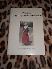 POEMES D'UNE PAYSANNE NORMANDE - Denise VERON-HAMBYE - Dédicace